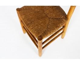 Charlotte Perriand chairs model Bauche n°19 edition Steph Simon 1950 set of 2