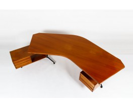 Osvaldo Borsani Executive desk model T96 Boomerang edition Tecno 1955