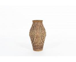 Vase en céramique W.Germany édition Studio Keramic 1970