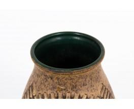 Vase in ceramic W. Germany edition Studio Keramic 1970