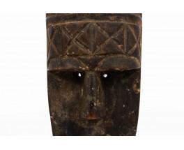 Masque décoratif design africain 1950