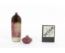 Set of vases in ceramic Didier Hoft Contemporary set of 2