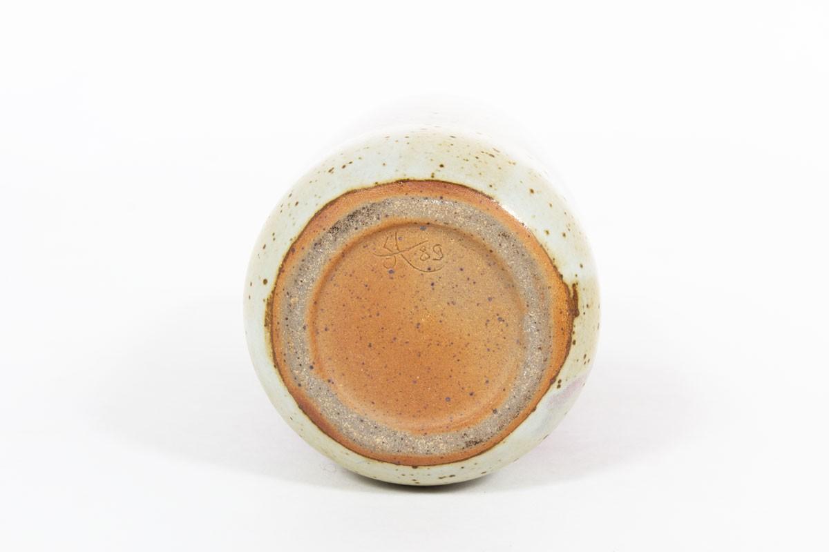Ensemble de vases en céramique Didier Hoft Contemporain set de 2
