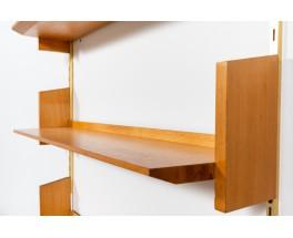 Dieter Reinhold shelf units model 192 in beech edition WK Mobel 1980 set of 4