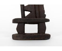 Sculpture en bois design africain 1950