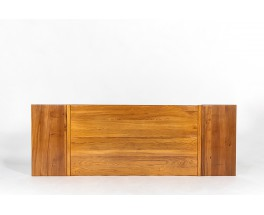 Dining table in elm with extensions edition Maison Regain 1980