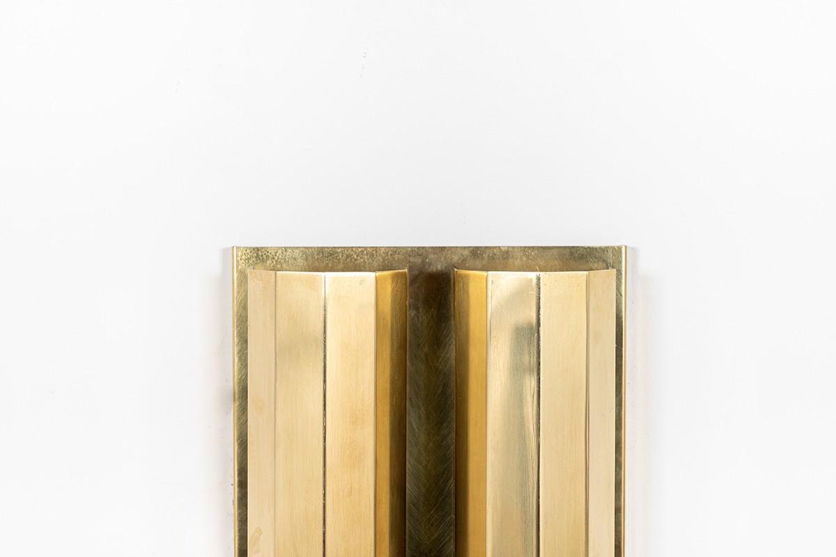 Wall light in brass 1950