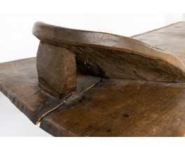 Senoufo bed in wood African design