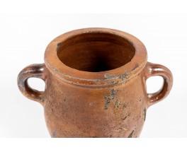 Pot en terre cuite début XXème siècle