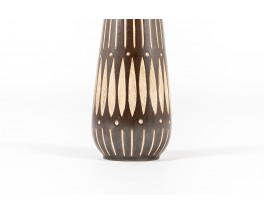 Set of 3 ceramic vases 1960