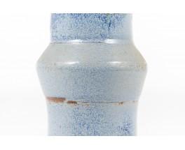 Vase en grès bleu design danois 1960