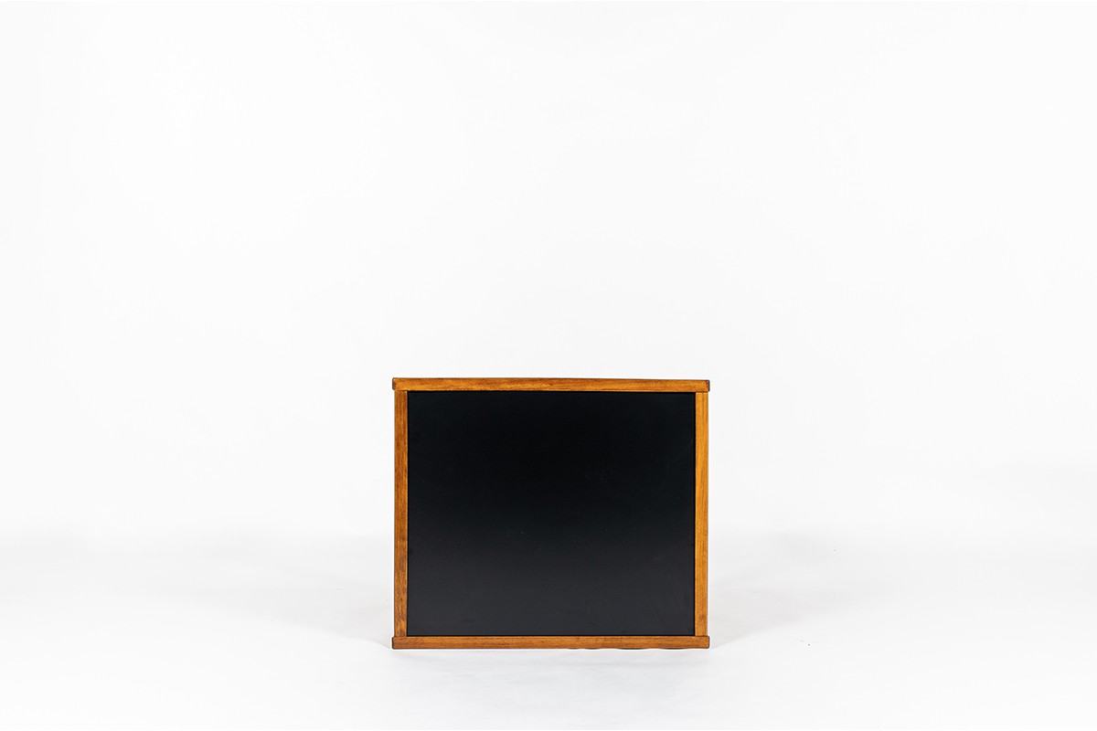 Andre Sornay desk small model black laminate 1950