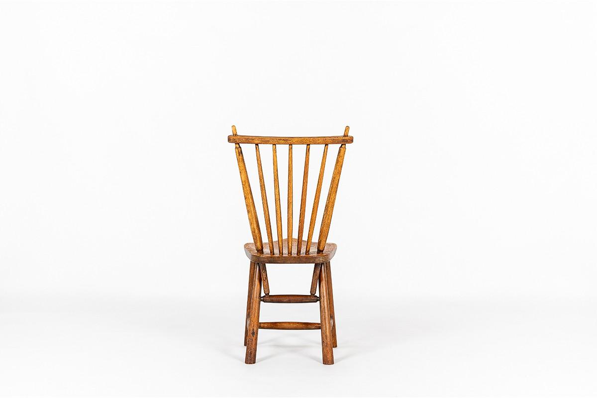 Chaises et fauteuil Ster Gelderland en chêne design Pays-Bas 1960