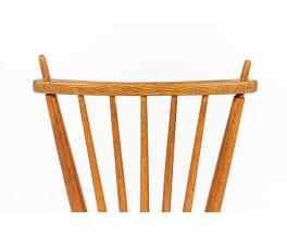 Ster Gelderland chairs and armchair in oak design Netherlands 1960