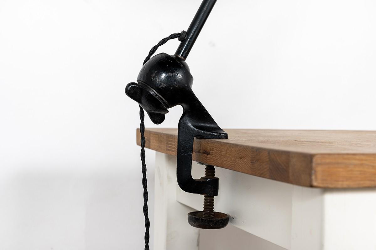 Bernard Albin Gras lamp model 201 draftsman reflector 1930