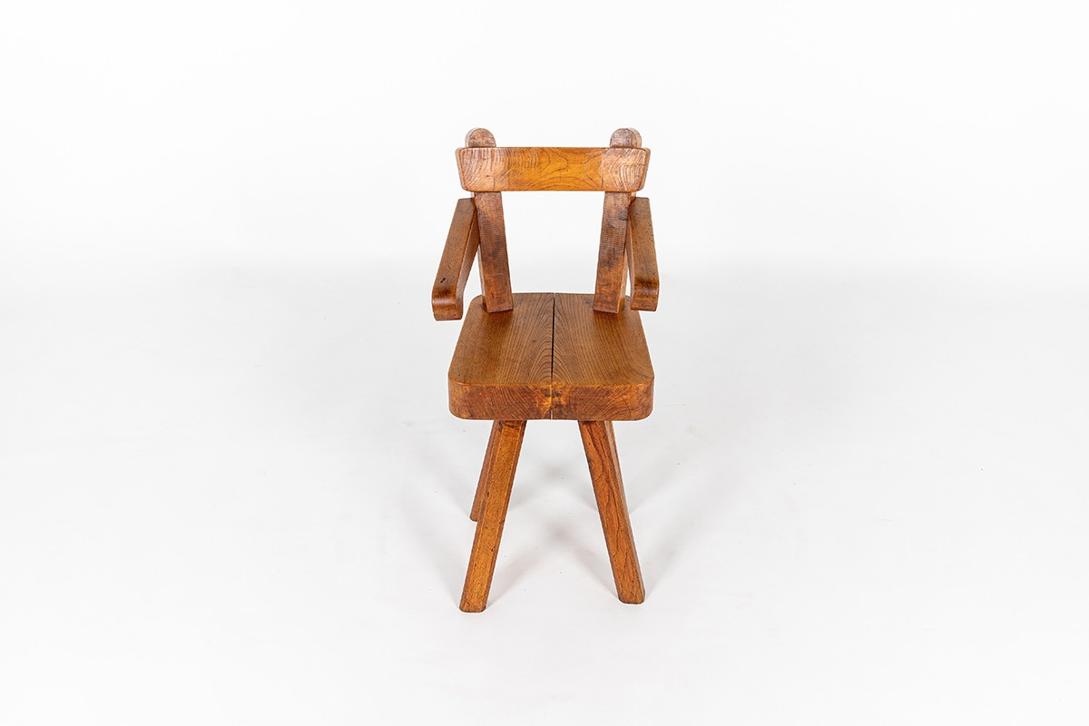 Child chair in elm 1980