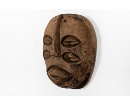 Wall mask African brutalist design 1950