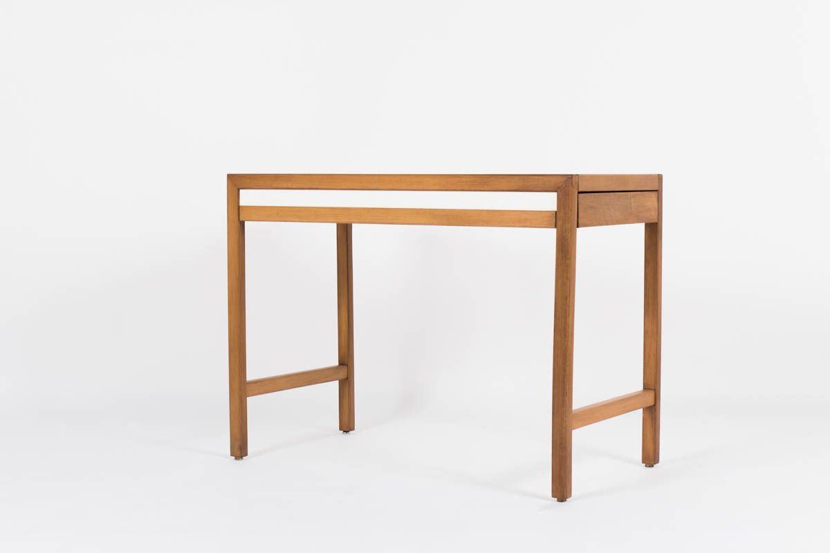 Console Andre Sornay laque blanche 1960