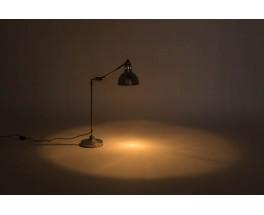 Lampe de bureau modele nickele Georges Houillon 1930