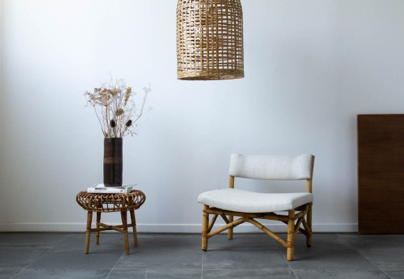 Rattan, a noble material shaped by many designers